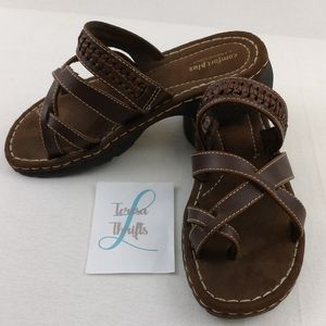 🐝Comfort plus by predictions sandals size 9w
